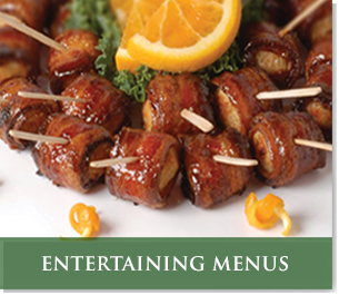 entertaining menus